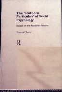 The  stubborn Particulars  of Social Psychology