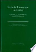 Slavische Literaturen im Dialog