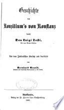 Geschichte des Konzilium's von Konstanz
