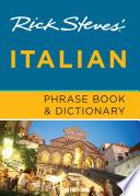 Rick Steves  Italian Phrase Book   Dictionary