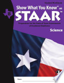 SWYK on STAAR Science Gr  8  Student Workbook