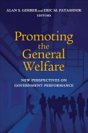 Promoting the General Welfare