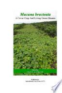 Mucuna bracteata  A Cover Crop and Living Green Manure