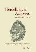 Heidelberger Anwesen Friedrich-Ebert-Anlage 52