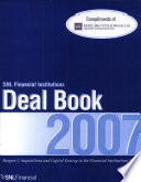Ebook The SNL Financial Institutions Deal Book 2007 Epub N.A Apps Read Mobile