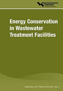 Energy Conservation In Wastewater Treatment Facilities Mop Fd 2