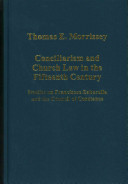 Conciliarism And Church Law In The Fifteenth Century