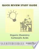 Carboxylic Acids  Organic Chemistry Quick Facts