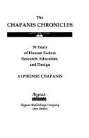 The Chapanis Chronicles