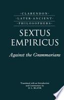 Book Against the Grammarians  Adversus Mathematicos I
