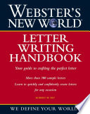 Webster s New World Letter Writing Handbook