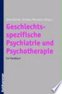 Geschlechtsspezifische Psychiatrie und Psychotherapie