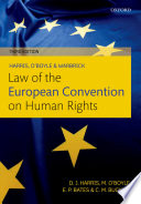 Harris  O Boyle  and Warbrick Law of the European Convention on Human Rights