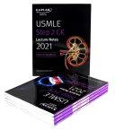USMLE Step 2 CK Lecture Notes 2021: 5-book set