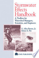 Stormwater Effects Handbook
