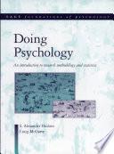 Doing Psychology