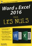 Word Excel 2016  m  gapoche pour les Nuls