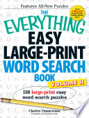 The Everything Easy Large Print Word Search Book  Volume II