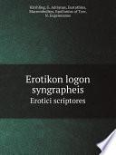 Erotikon logon syngrapheis