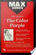 Color Purple  the  MAXNotes Literature Guides
