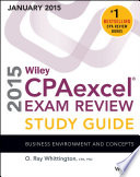 Wiley CPAexcel Exam Review 2015 Study Guide  January