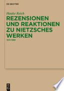 Rezensionen und Reaktionen zu Nietzsches Werken