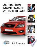 Workbook for Thompson s Automotive Maintenance   Light Repair