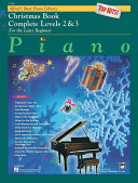 Alfred's Basic Piano Course: Top Hits! Christmas Book Complete 2 & 3