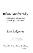 Below Another Sky