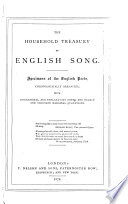 Household Treasury of English Song