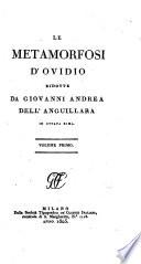 Le Metamorfosi d'Ovidio