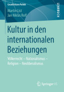Kultur in den internationalen Beziehungen