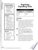 Academic Vocabulary Level 2  Organizing Expository Texts