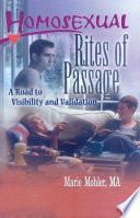 Homosexual Rites of Passage