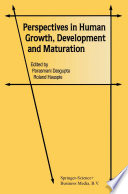 Perspectives In Human Growth Development And Maturation