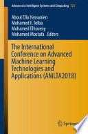 The International Conference on Advanced Machine Learning Technologies and Applications  AMLTA2018