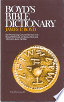 Boyd s Bible Dictionary