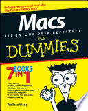 Macs All in One Desk Reference For Dummies