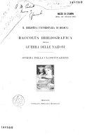 Raccolta bibliografica della Guerra delle Nazioni