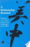 A Relationship Restored book