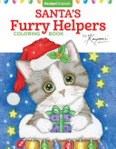 Santa s Furry Helpers Coloring Book