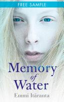 Memory of Water  free sampler Book PDF