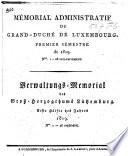 Mémorial administratif du Grand-Duché de Luxembourg