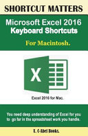 Microsoft Excel 2016 Keyboard Shortcuts for Macintosh