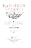 Dampier s voyages