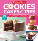 Taste Of Home Cookies Cakes Pies