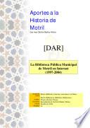 La biblioteca Pública Municipal de Motril en Internet (1997-2004)