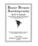 Buster Brown s Autobiography
