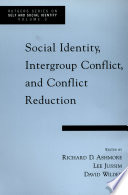 Social Identity  Intergroup Conflict  and Conflict Reduction
