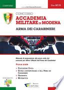 Accademia Militare di Modena   Arma dei Carabinieri   Prova Orale